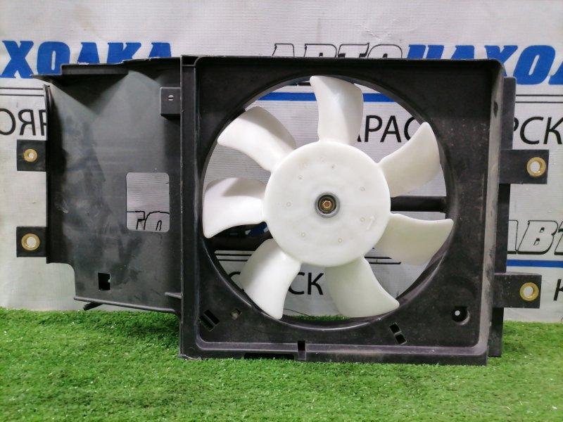 Вентилятор радиатора Nissan Cube Z10 CG13DE 1998 на кондиционер, с диффузором