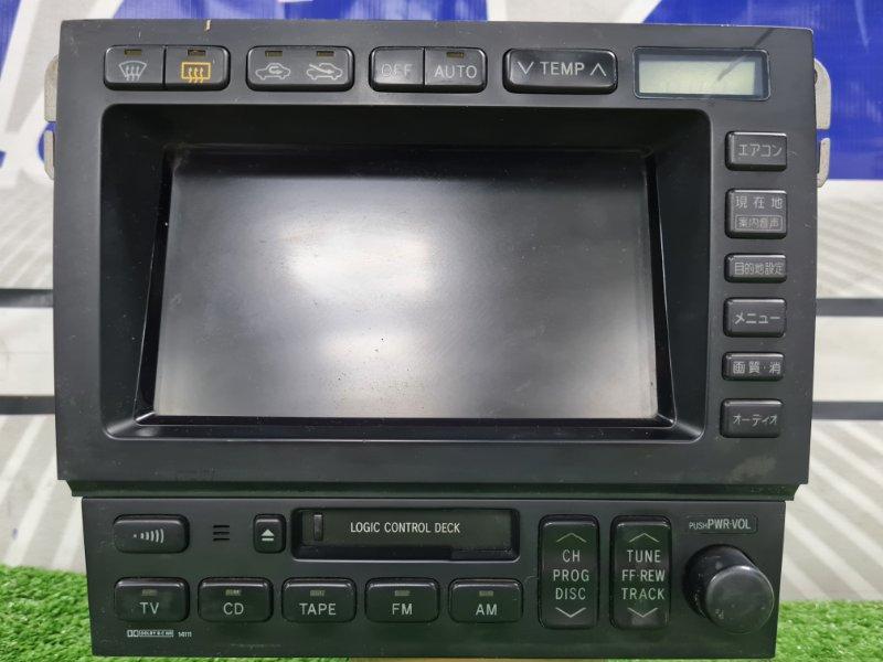 Климат-контроль Toyota Crown Majesta UZS157 1UZ-FE 1995 86110-30141 Ж/К климат-контроль с магнитолой