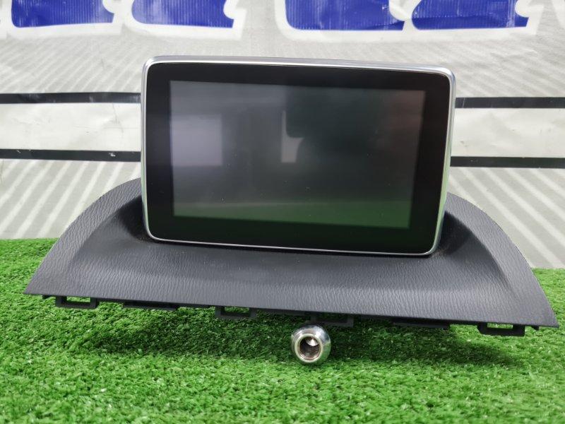 Монитор Mazda Axela BYEFP PE-VPH 2013 штатный инфодисплей с панели, с фишками