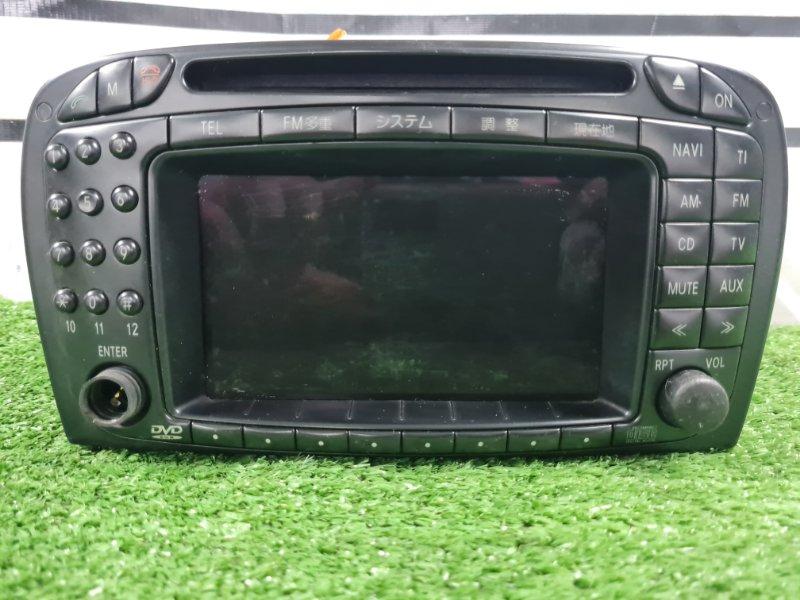 Магнитола Mercedes-Benz Sl-Roadster 230.475 113.963 2001 Штатная мультимедиа система, CD/TV/AUX/DVD, с