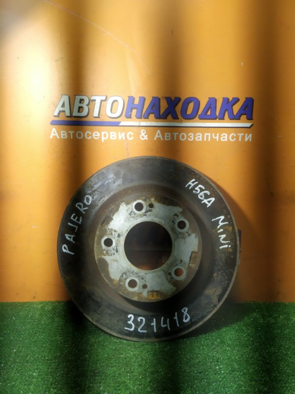Диск тормозной Mitsubishi Pajero Mini H56A 4A30 передний Ф278, T11, CD68, 5 ШПИЛЕК, НЕ ВЕНТ