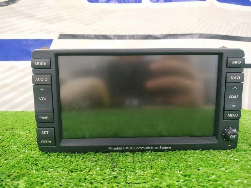 Магнитола Mitsubishi Outlander CW5W 4B12 2006 NR-261JM-06AIR0 Штатная магнитола MMC System. CD, DVD, TV, аналоговый
