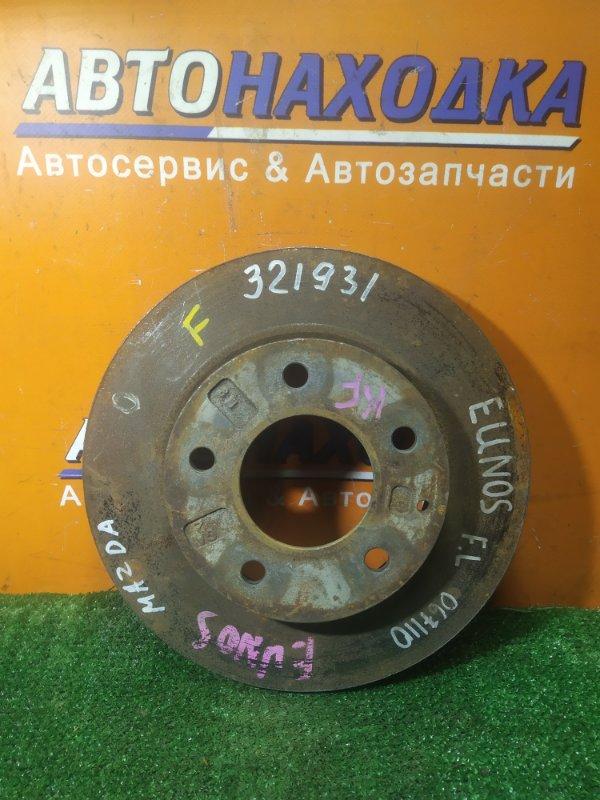 Диск тормозной Mazda Eunos TAFP KF-ZE передний GA5Y Ф257, T23, CD71, 5 ШПИЛЕК, ВЕНТ