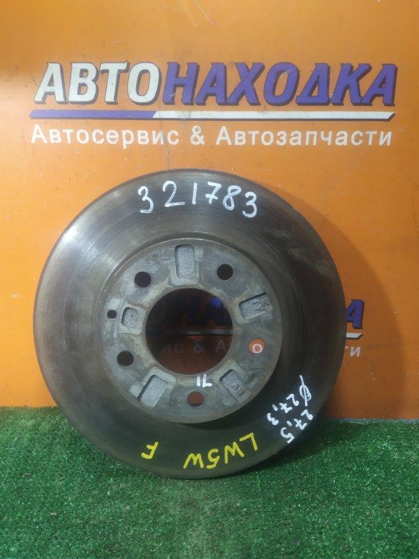 Диск тормозной Mazda Mpv LW5W FS передний Ф273, T27.5, CD71, 5 ШПИЛЕК, ВЕНТ
