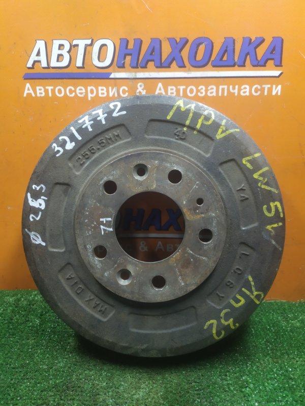 Барабан тормозной Mazda Mpv LW5W GY задний LC6Y Ф253, CD71, 5 ШПИЛЕК,