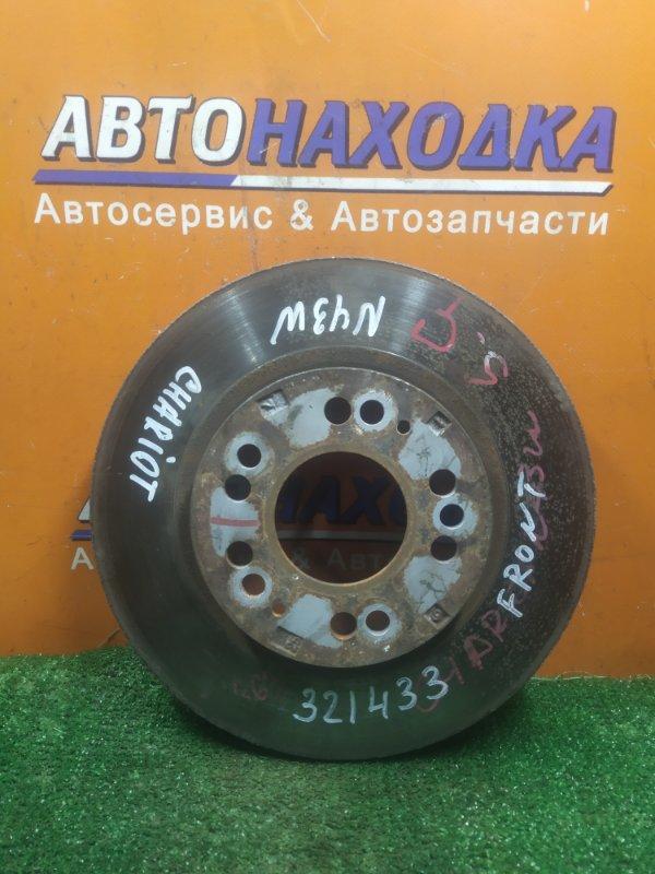 Диск тормозной Mitsubishi Chariot N43W 4G63 передний Ф276, T23, CD68, 5 ШПИЛЕК, ВЕНТ