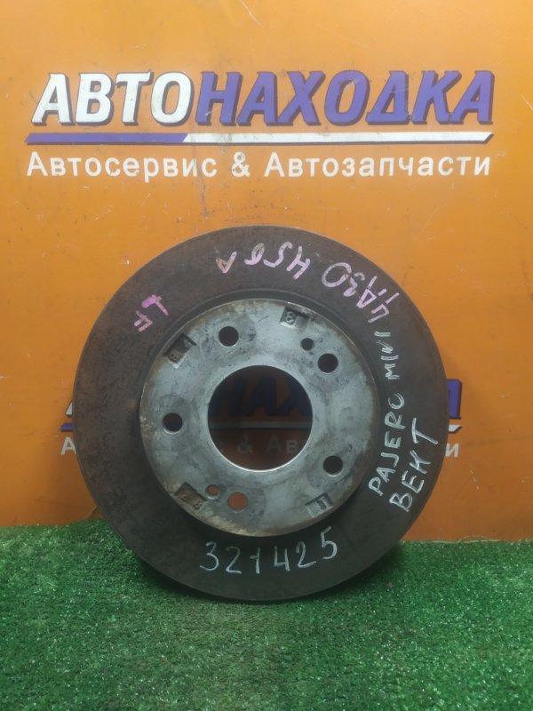 Диск тормозной Mitsubishi Pajero Mini H56A 4A30 передний Ф258, T21, CD68, 5 ШПИЛЕК, ВЕНТ