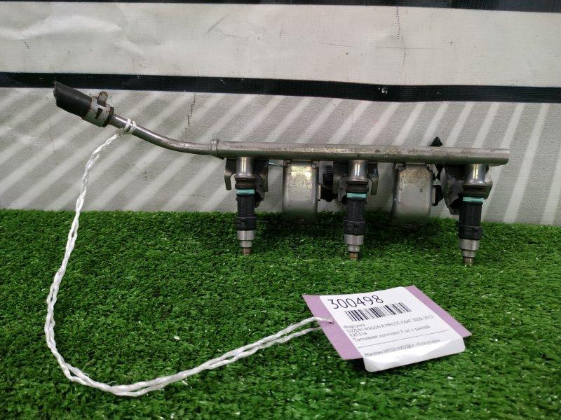 Форсунка Suzuki Wagon R MH23S K6AT 2008 EAT314 Топливная, комплект 3 шт. с рампой.