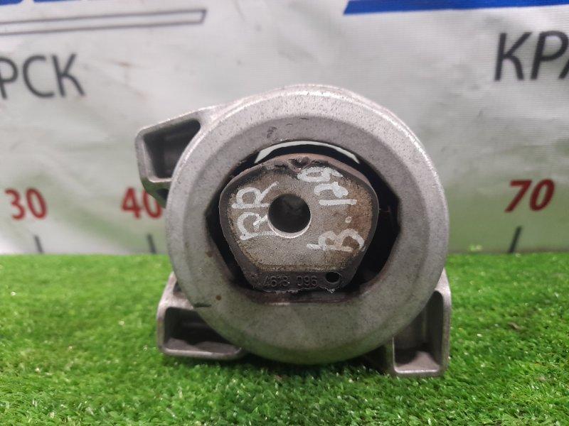 Подушка двигателя Mercedes-Benz B170 245.232 266.940 2005 задняя правая Задняя правая, в ХТС.