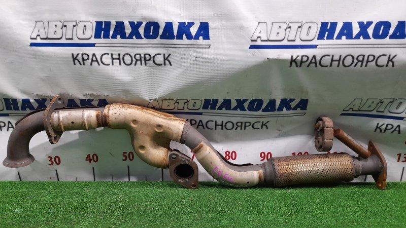 Глушитель Mazda Tribute EPFW AJ 2000 труба приемная с гофрой.
