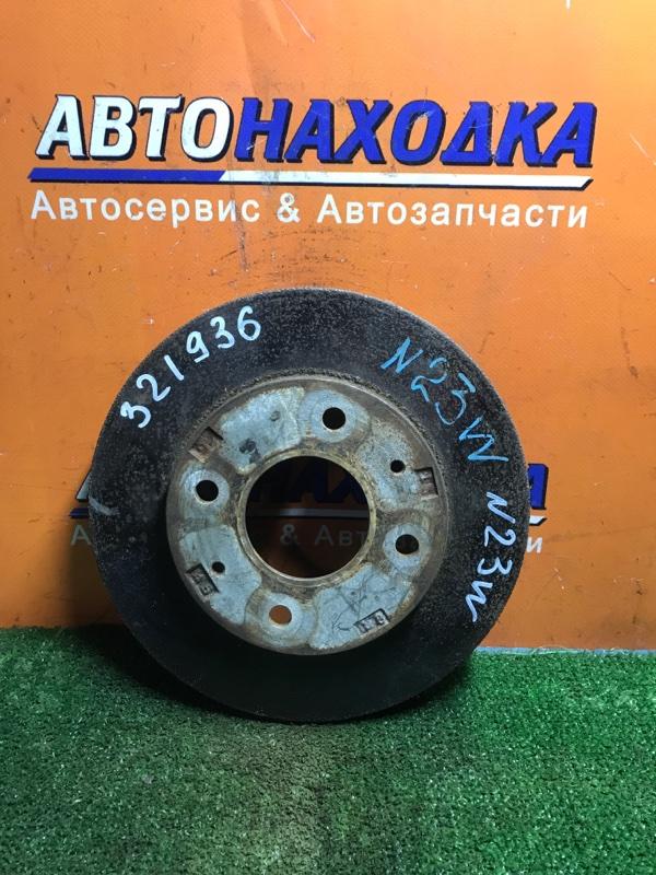 Диск тормозной Mitsubishi Rvr N23W 4G63 передний Ф256, CD69, T24, 4 ШПИЛЬКИ, ВЕНТ