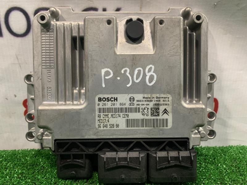Компьютер Peugeot 308 T7 EP6DT 2007 0261201864 блок управления ДВС