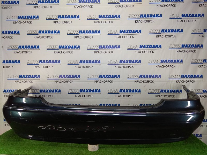 Бампер Mercedes-Benz S320 220.065 112.944 1998 задний задний, темно-синий (189U), с антеннами (A2208201975),