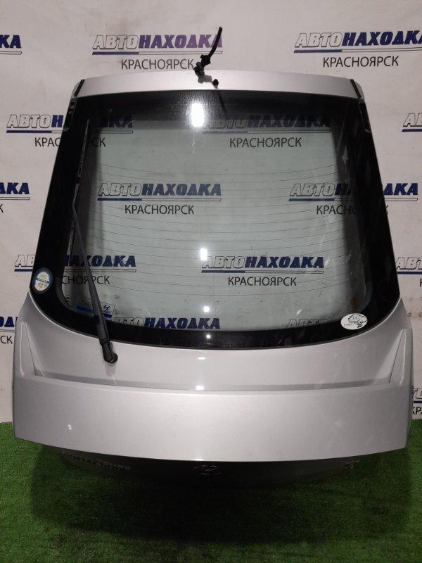 Дверь задняя Hyundai Coupe GK G6BA 2002 задняя в сборе, со спойлером, цвет LS, есть пара сколов
