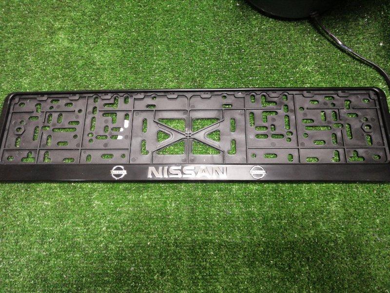 Рамка для номера NISSAN