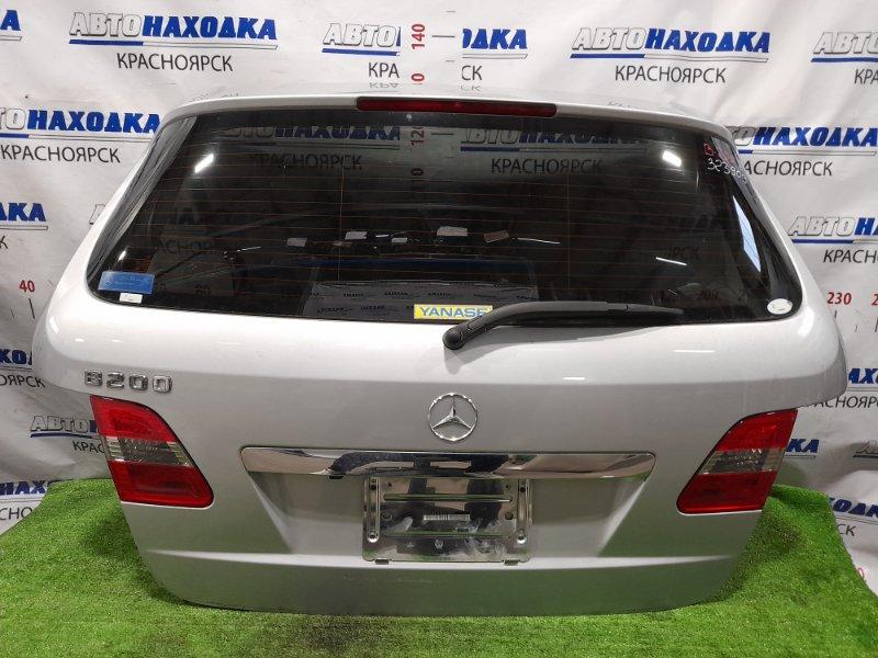 Дверь задняя Mercedes-Benz B200 245.232 M266 E20 2005 задняя в сборе, есть пара царапин с повреждением