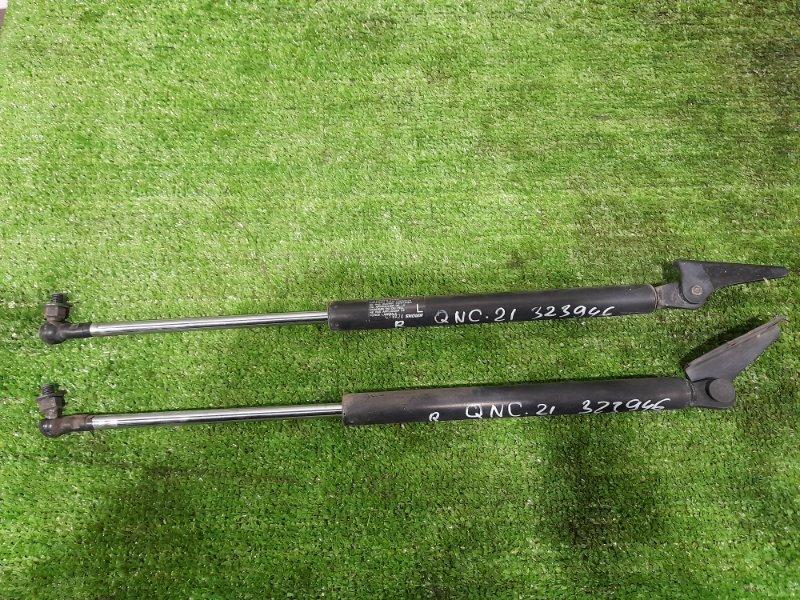 Амортизатор багажника Toyota Bb QNC21 3SZ-VE 2005 задний пара L+R