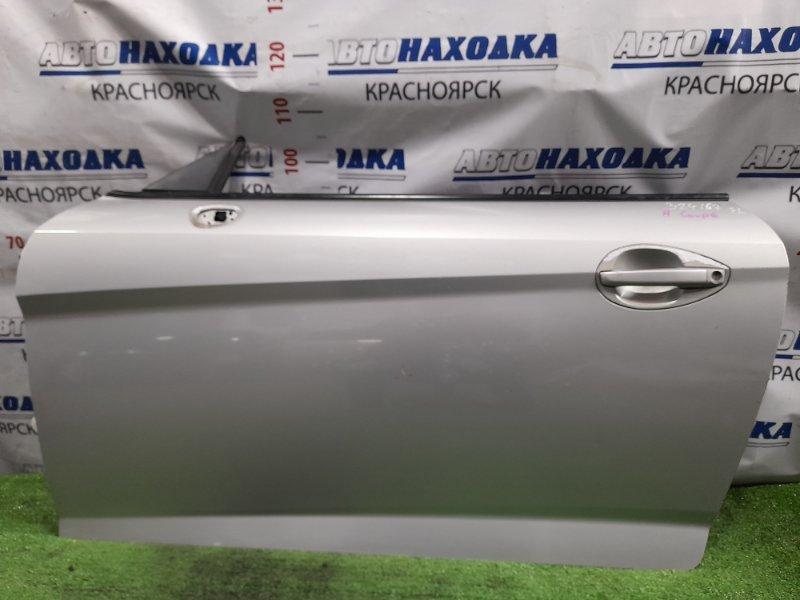 Дверь Hyundai Coupe GK G6BA 2002 левая Левая, цвет LS, без стекла и стеклоподъемника, есть дефект