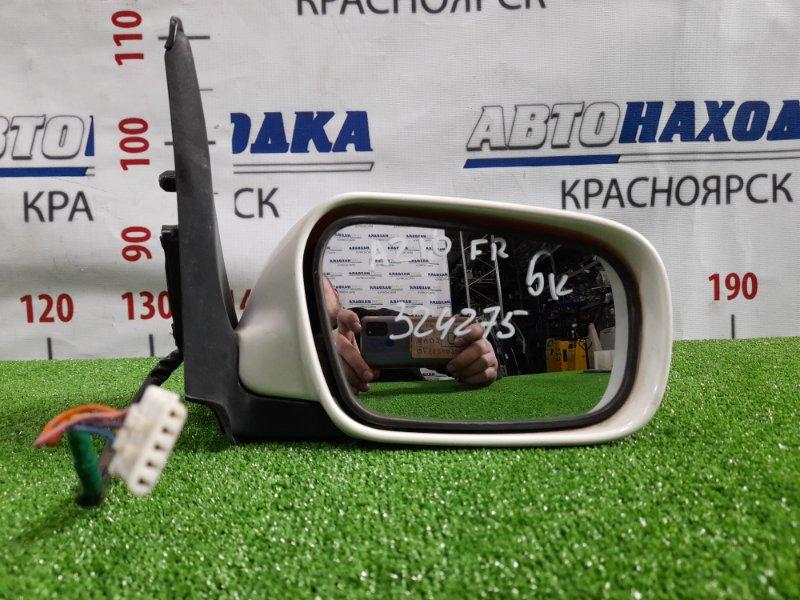 Зеркало Nissan Cube AZ10 CGA3DE 1998 переднее правое Правое, 5 контактов, цвет 531, есть потертость до