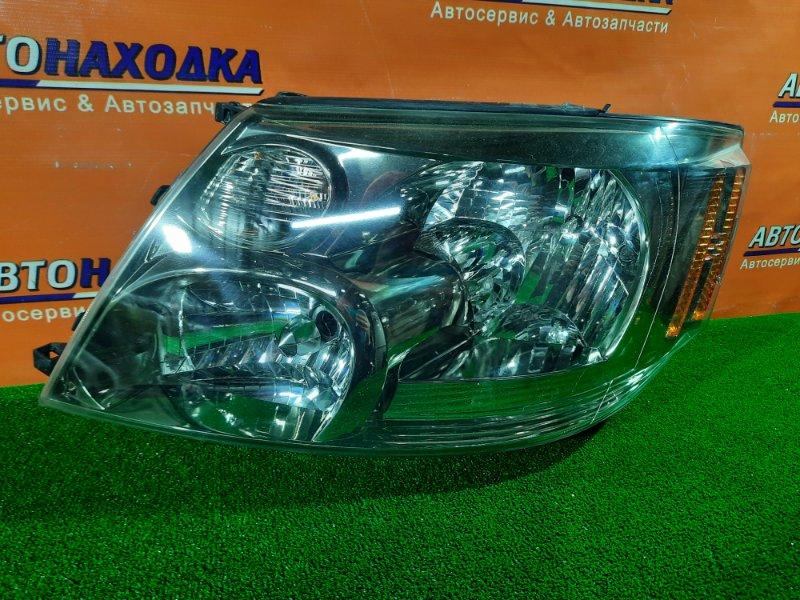 Фара Toyota Alphard ANH10 2AZ-FE левая 58-2 1MOD, КСЕНОН. БЕЗ ЛАМПЫ. КОРРЕКТОР. ВЕРХНЕЕ УХО ОТЛОМАНО.