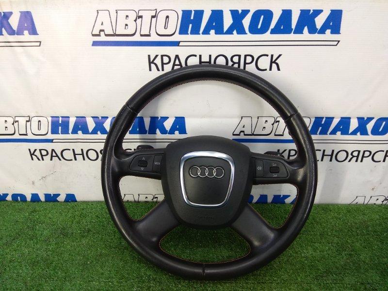Airbag Audi A6 C6 AUK 2004 ХТС. Водительский с мультирулём, без заряда, кожа
