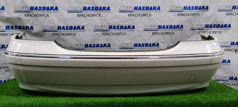 Бампер Mercedes-Benz C200 203.042 M271E18 2004 задний Задний, седан, рестайлинг, есть вмятинка с