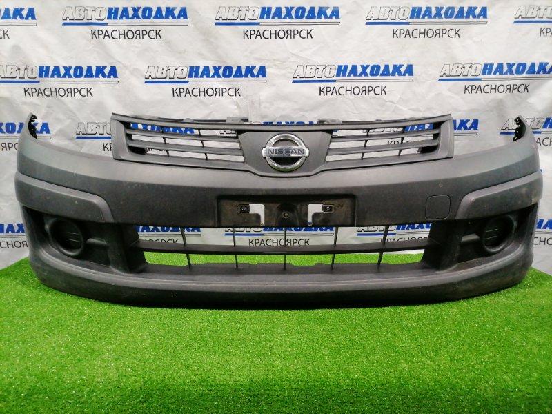 Бампер Nissan Ad VY12 HR15DE 2006 передний передний, есть потертости