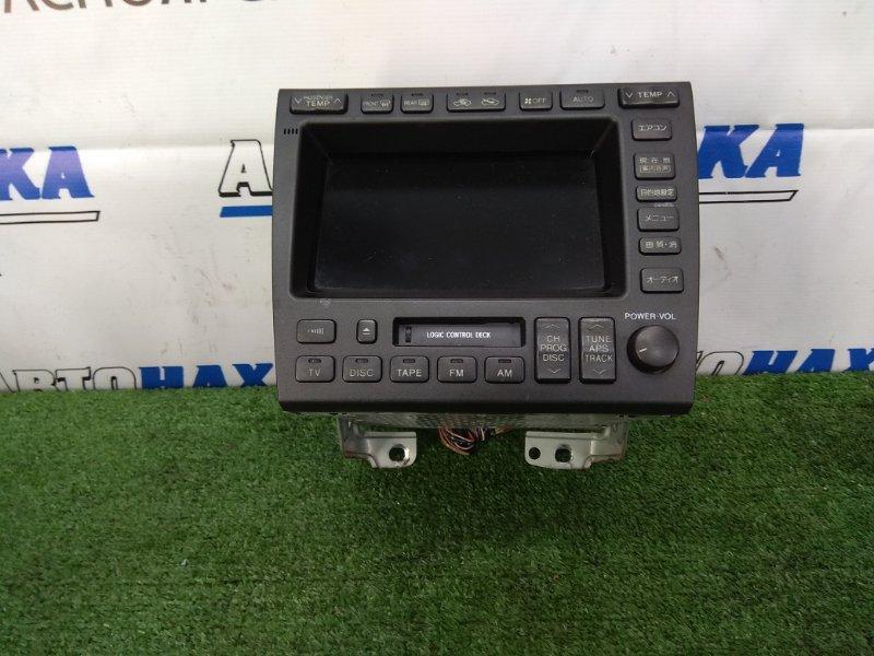 Климат-контроль Toyota Aristo JZS160 2JZ-GE 1997 С магнитолой и мультидисплеем. C фишками