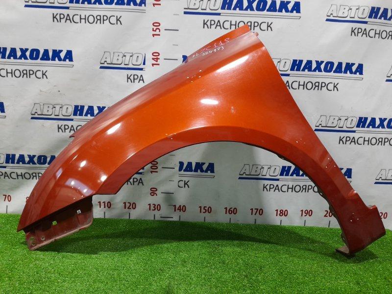 Крыло Suzuki Swift ZC11S M13A 2007 переднее левое переднее левое, цвет ZFM, рестайлинг. Есть мелкие