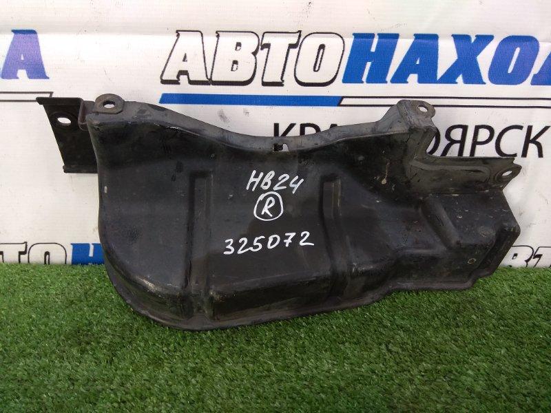 Защита двс Mazda Carol HB24S K6A 2004 передняя правая правая боковая