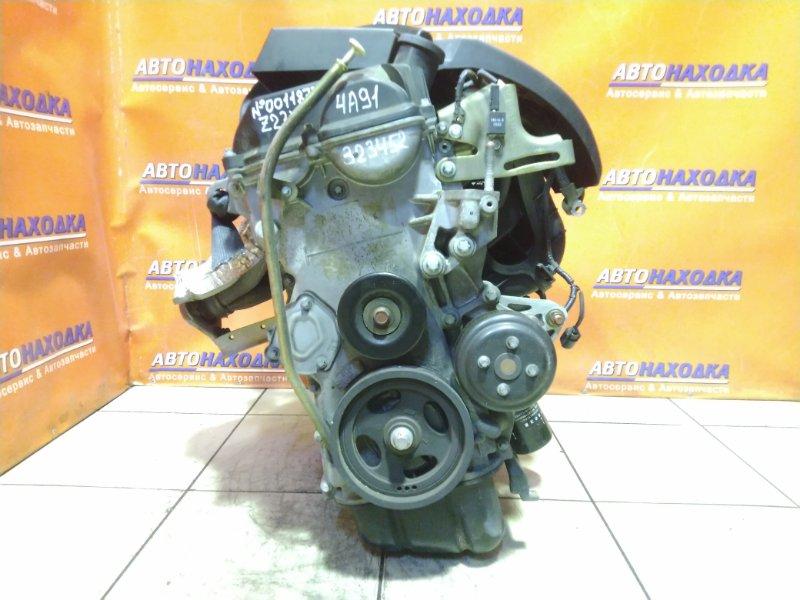 Двигатель Mitsubishi Colt Plus Z23W 4A91 2005 0011877 112T.KM, БЕЗ НАВЕСНОГО