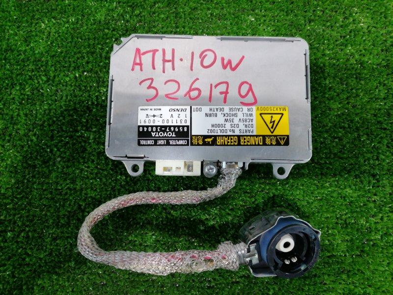 Блок розжига ксенона Toyota Alphard ATH10W 2AZ-FXE 2002 D2R/D2S, 35W, 12V