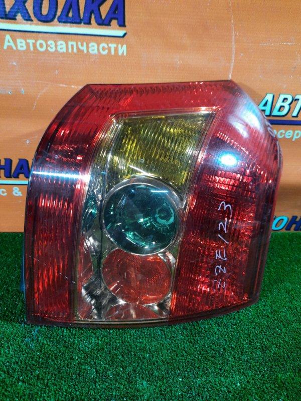 Фонарь задний Toyota Corolla Runx ZZE123 2ZZ-GE правый 1387 3MOD. трещина на стекле.