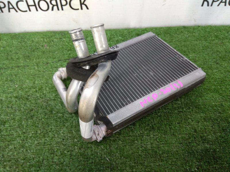 Радиатор печки Toyota Funcargo NCP20 2NZ-FE 1999 манжеты трубок под замену