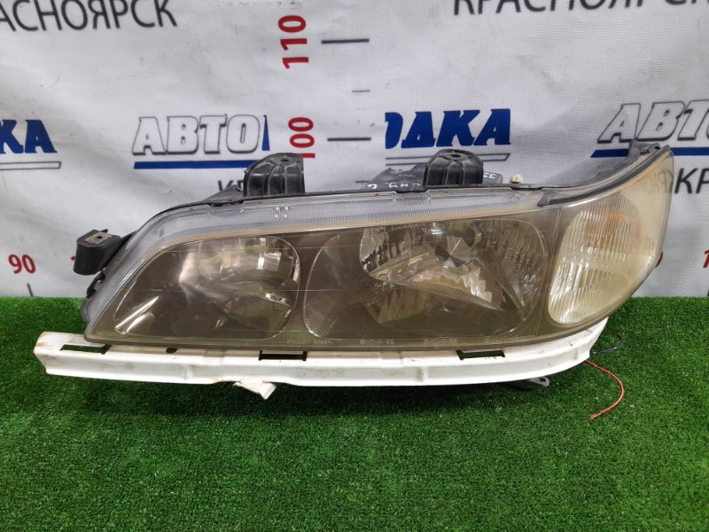 Фара Honda Accord CF4 F20B 2000 передняя левая R7637 левая, рестайлинг, R7637, ксенон в сборе, планка