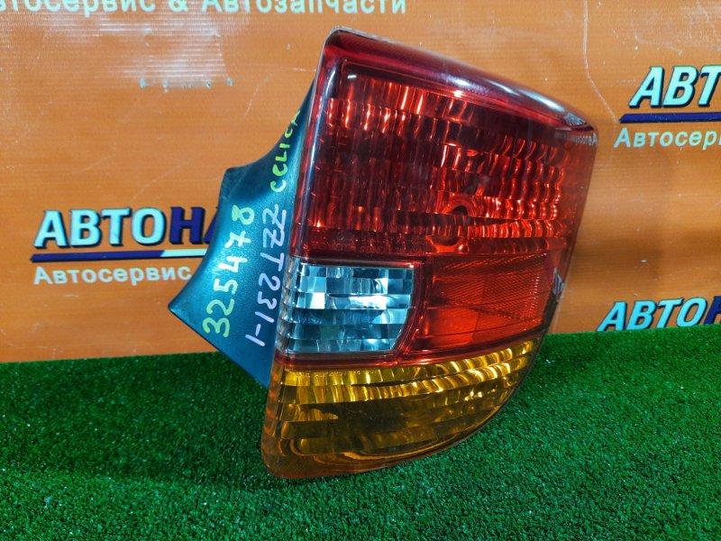 Фонарь задний Toyota Celica ZZT231 2ZZ-GE 03.2002 правый 20-407, 20-410, 20-420 1MOD