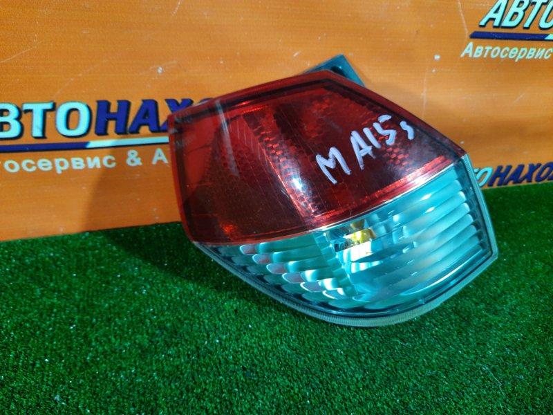 Фонарь задний Suzuki Solio MA15S K12B левый 35603-54M0