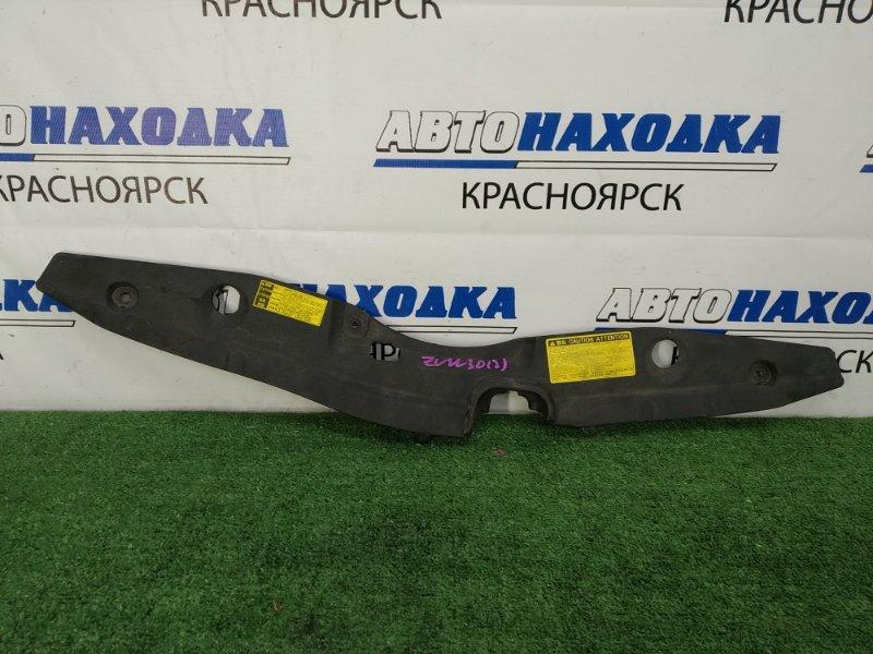 Накладка на телевизор Toyota Prius ZVW30 2ZR-FXE 2009 на рамку радиатора где замок капота
