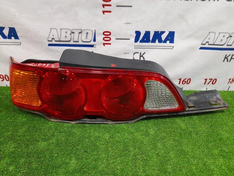 Фонарь задний Honda Integra DC5 K20A 2001 задний левый 220-22388 левый, 220-22388, с планкой, дорестайлинг.