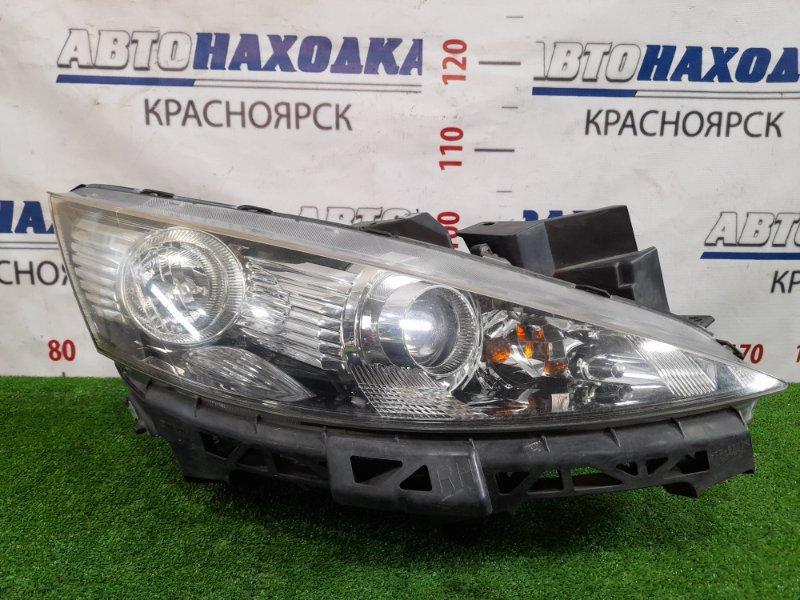Фара Mazda Biante CCEFW LF-VDS 2008 передняя правая P7470 правая, галоген, корректор, с планкой, P7470