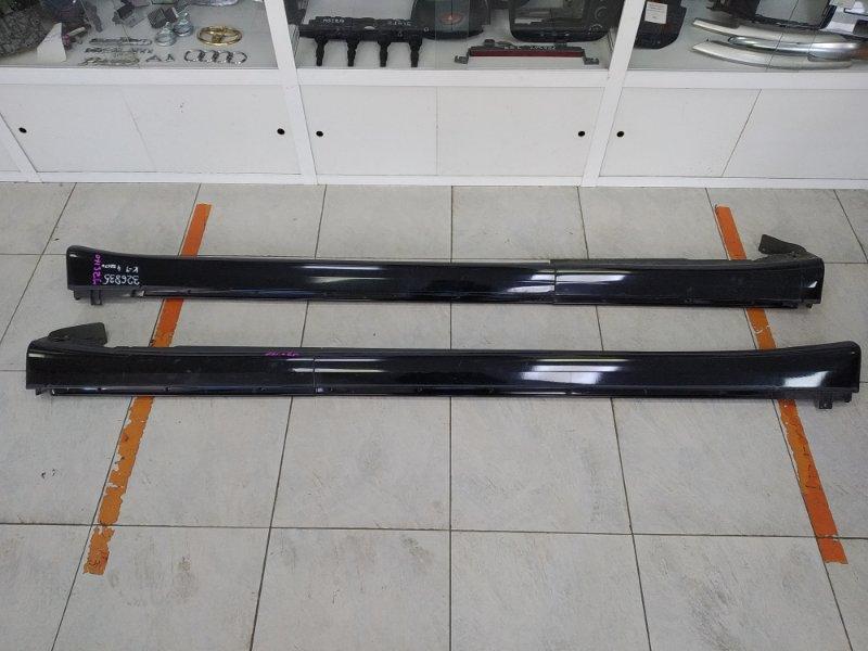 Порог Toyota Aristo JZS160 2JZ-GE 1997 в целом ХТС, штатные, пластиковые, пара : левый + правый,