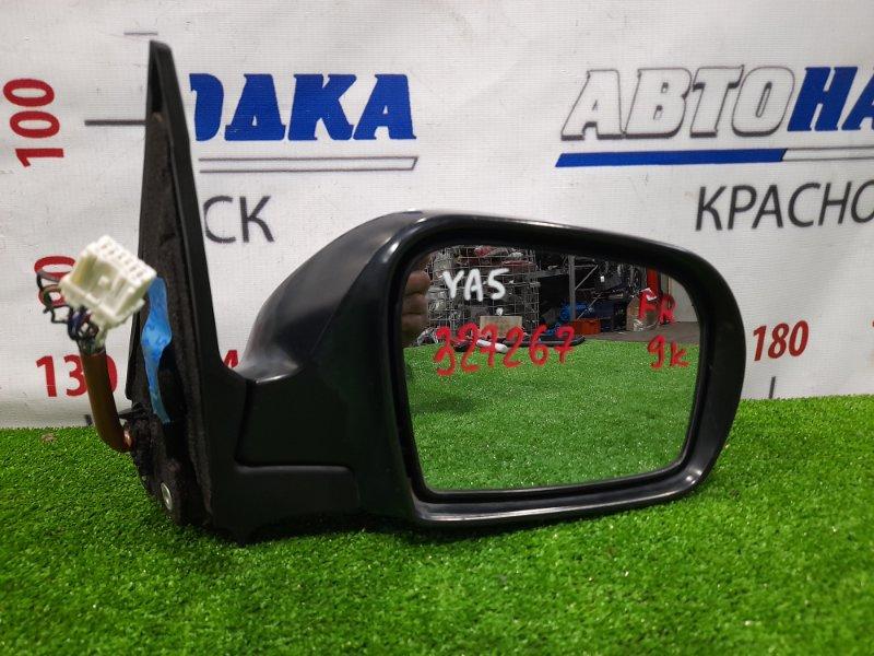 Зеркало Subaru Exiga YA5 EJ20 2008 переднее правое правое, 9 контактов, с поворотником, есть мелкий