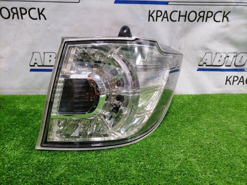 Фонарь задний Mazda Mpv LY3P L3-VE 2006 задний правый P5134 правый, P5134, хром фон,