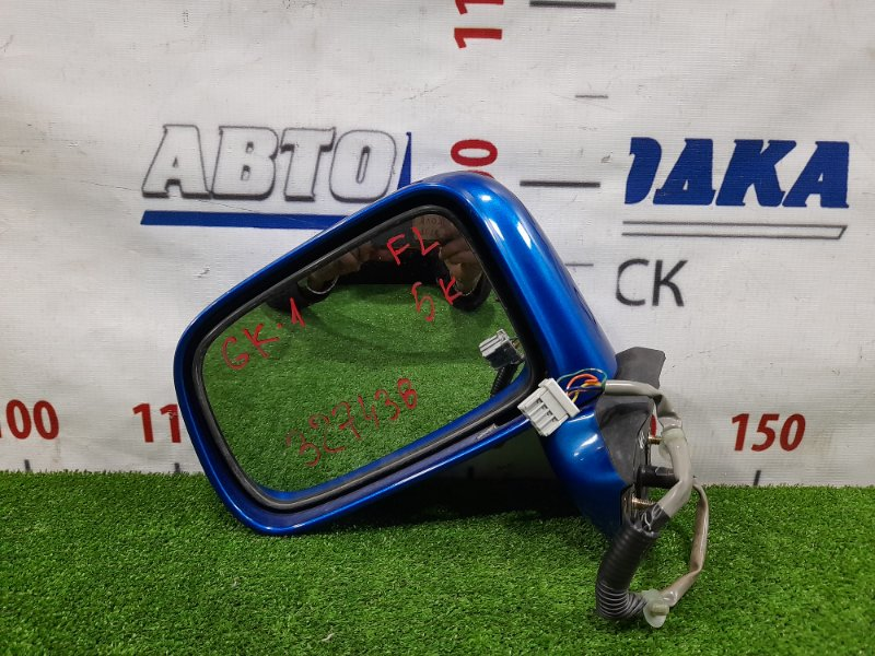 Зеркало Honda Mobilio Spike GK1 L15A 2002 переднее левое Левое, 5 контактов. Есть мелкие сколы ЛКП.