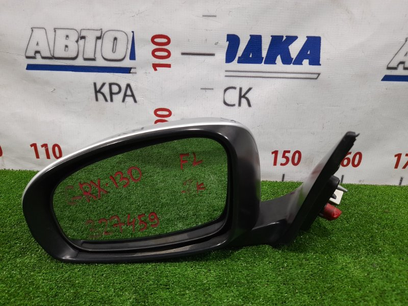 Зеркало Toyota Mark X GRX130 4GR-FSE 2009 переднее левое 87940-22A50 Левое, 7 контактов. В ХТС