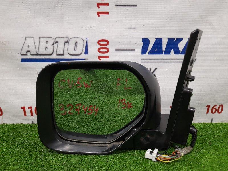 Зеркало Mitsubishi Delica D:5 CV5W 4B12 2007 переднее левое Левое, с камерой, повторителем, 13 контактов.