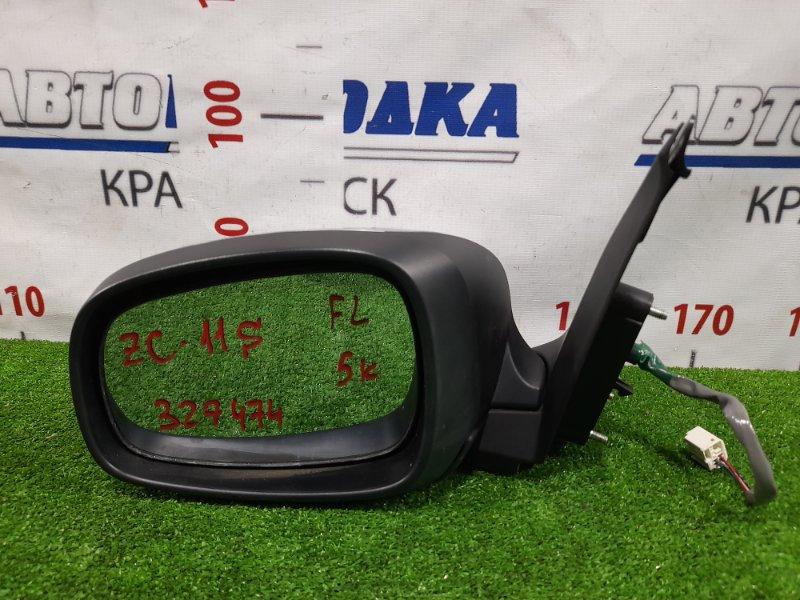 Зеркало Suzuki Swift ZC11S M13A 2004 переднее левое Левое, 5 контактов.