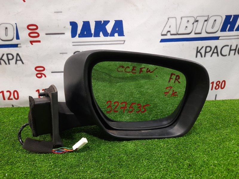 Зеркало Mazda Biante CCEFW LF-VDS 2008 переднее правое Правое, с повторителем, 7 контактов, есть