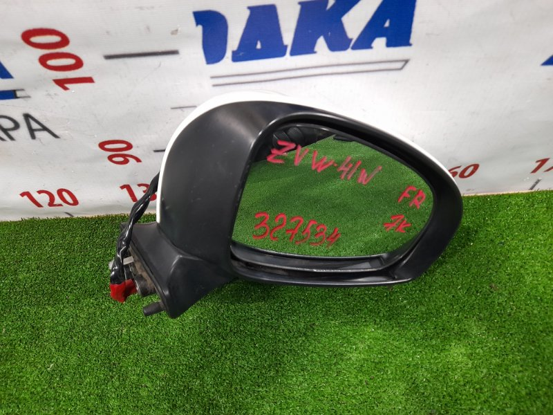 Зеркало Toyota Prius A ZVW41W 2ZR-FXE 2011 переднее правое Правое, с повторителем, 7 контактов
