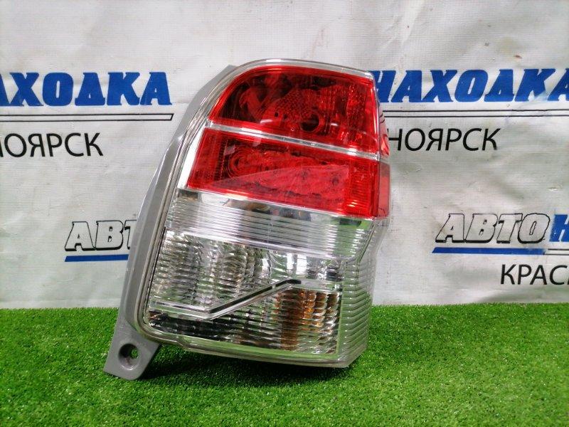 Фонарь задний Toyota Spade NCP141 1NZ-FE 2012 задний правый 52-262 правый, 52-262, неглубокие царапинки